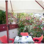 B&B Salerno Centro, terrazzo privato